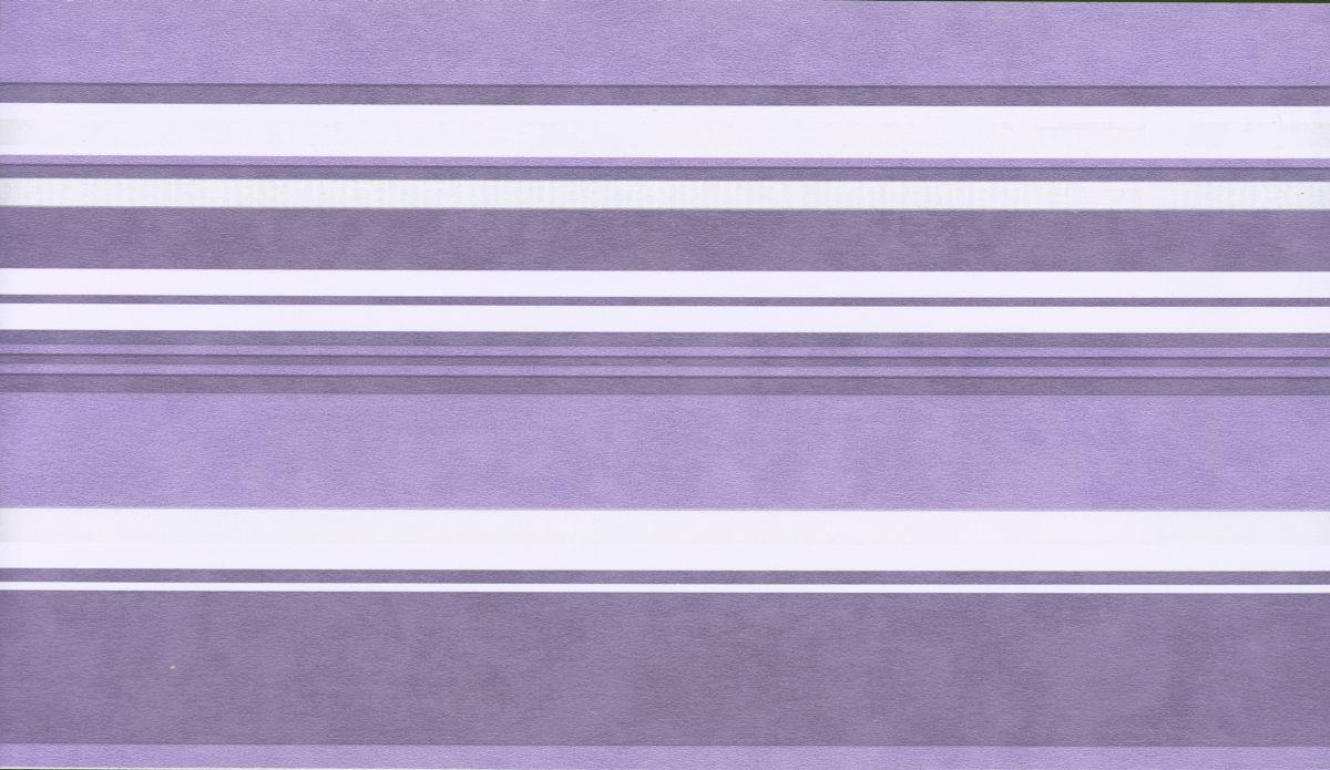 Selbstklebende Bordure Streifen Lila 3600 04 Borduren Decowunder