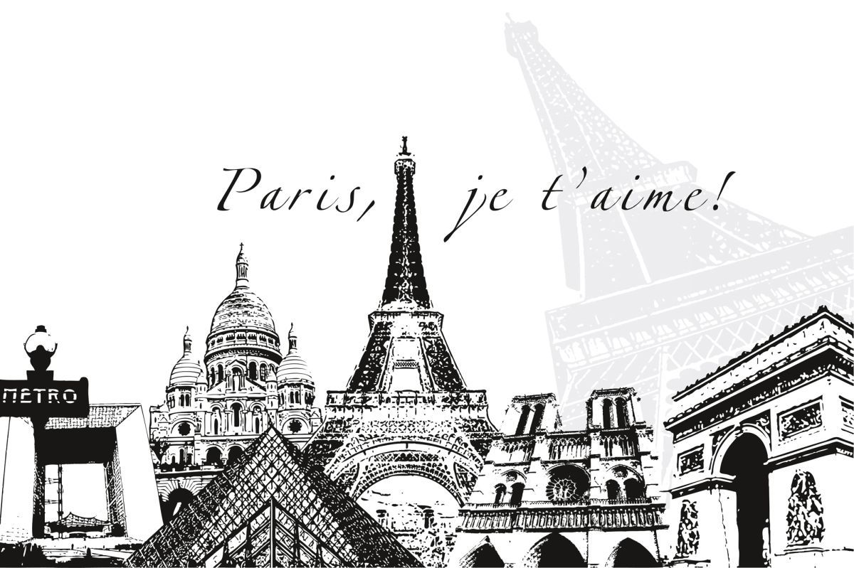 High Quality Wallpapers And Fabrics Photo Wallpaper Paris 0366 3