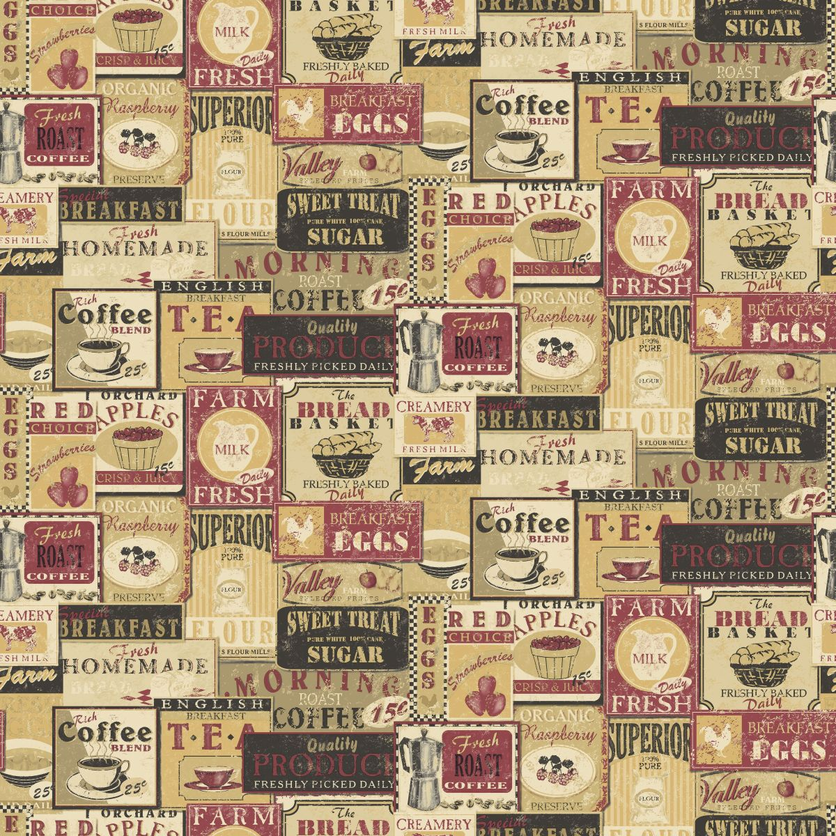 High Quality Wallpapers And Fabrics Non Woven Vinyl Wallpaper Norwall Kitchen Recipes G12297 Decowunder