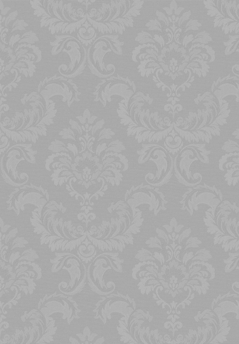 Hochwertige Tapeten Und Stoffe Tapete Simply Silks Barock Silber