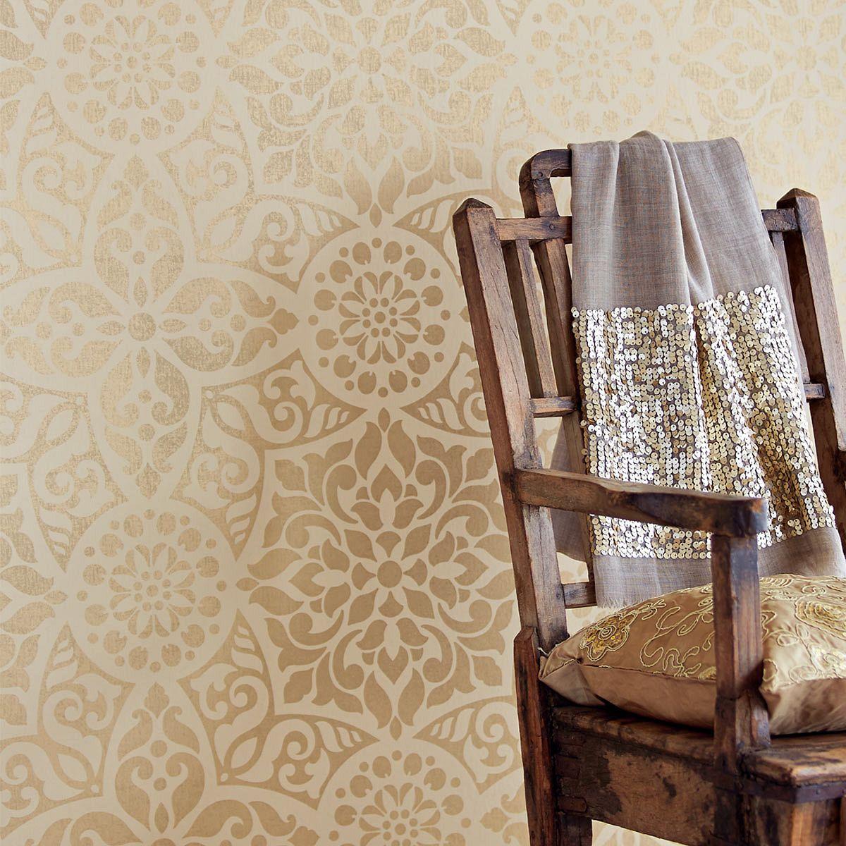 Non Woven Wallpaper Eijffinger Yasmin 341704 Non Woven Wallpaper
