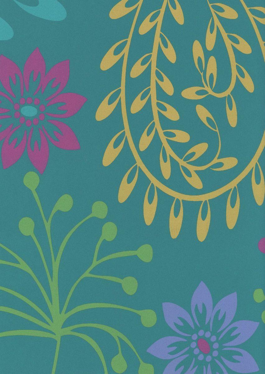 vliestapete florales muster 155 03 - Vliestapete Muster