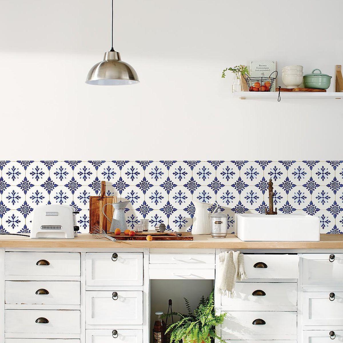Wandbild selbstklebend Küche Bon Appetit Caselio 68516006