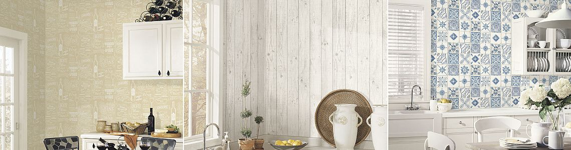 Style 3 Kitchen Wallpapers Buy At Decowunder Tapetende
