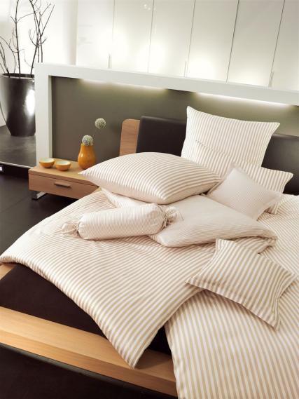mako silk satin bed linen modernclassic 3912-27-5 200/200 cm + 2 x 80/80 cm