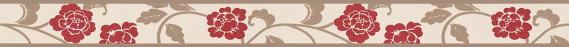 border self-adhesive foam flower tendril 2820-19