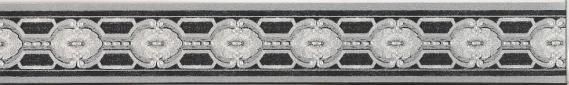 Selbstklebende Bordüre mit grafischem Muster 3567-02