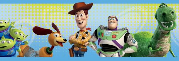 self adhesive border Toy Story 3 42155