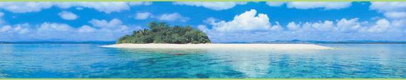 border self-adhesive digital island ocean 9032-11