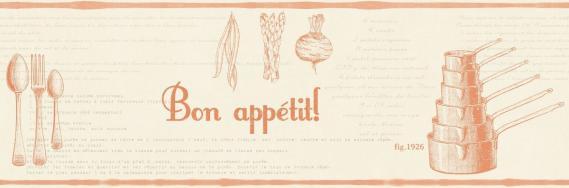 kitchen border Bon Appetit Caselio 68473017