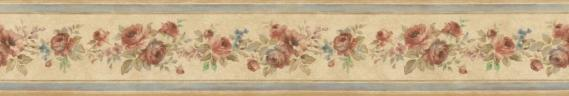 country house border Floral Prints PR79651