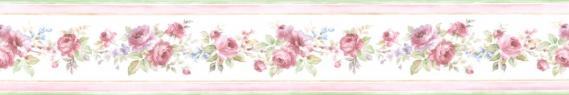 country house border Floral Prints PR79654