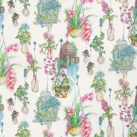 Dekostoff Enchanted Gardens Osborne & Little F7014-01
