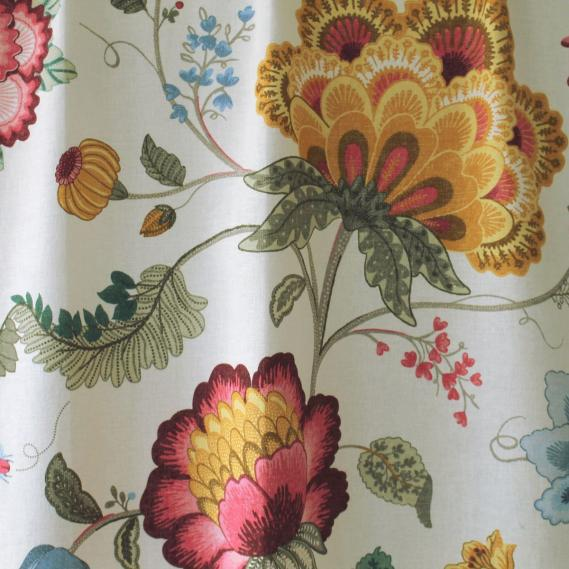 furnishing fabric PIP Studio flower pattern 7665-4