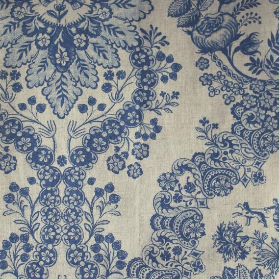 furnishing fabric PIP Studio vine pattern 7666-3