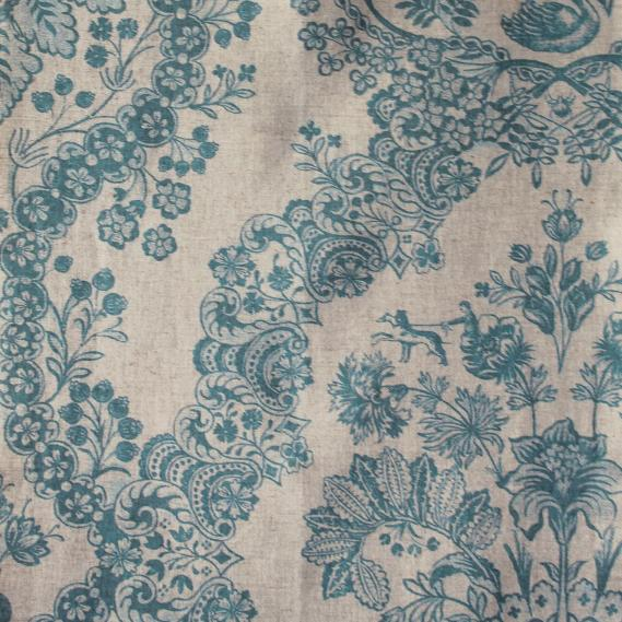 furnishing fabric PIP Studio vine pattern 7666-6
