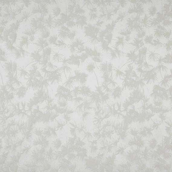 furnishing fabric plants white Zao 28730111