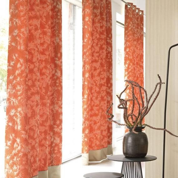 furnishing fabric plants red Zao 28733225