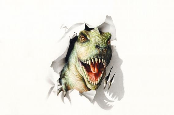 Fototapete T-Rex 0301-4