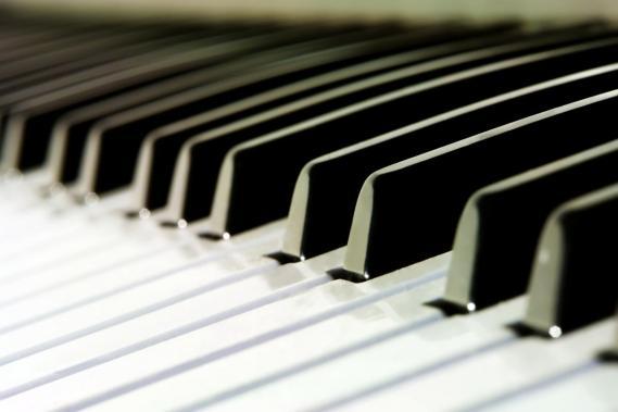 Fototapete mit Klavier 0301-5