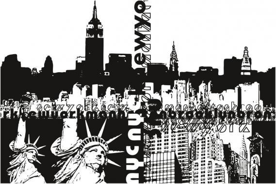 Fototapete New York 0320-2