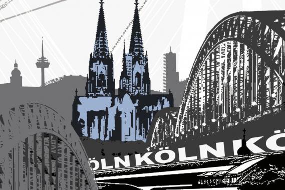 Fototapete Köln 0320-4