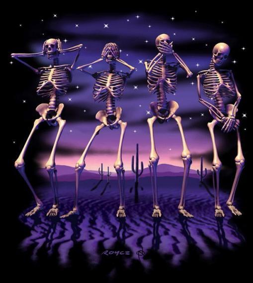 Mural Skeletons EV1354