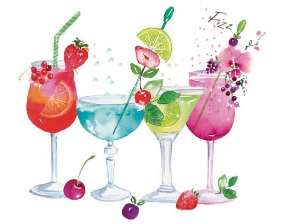 Fototapete Cocktails EV1371