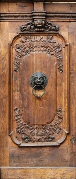 Fototapete Tür selbstklebend London 0200-01
