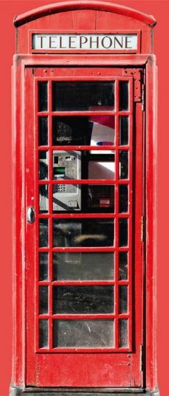 Fototapete Tür selbstklebend Telephone 0200-19