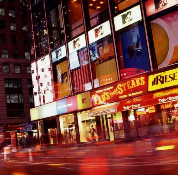 Fototapete Mr. Perswall P111803-6 Time Square 270*265