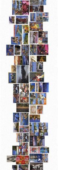 Fototapete Mr. Perswall P112103-2 Postcards 90*265