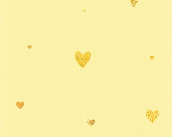 Paper-backing wallpaper with hearts 6916-37