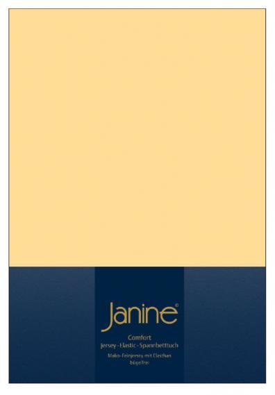 Spannbetttuch Elastic vanille 5002-23