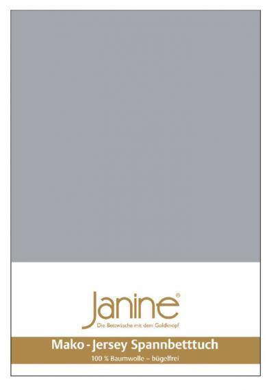 Spannbetttuch Jersey platin 5007-28