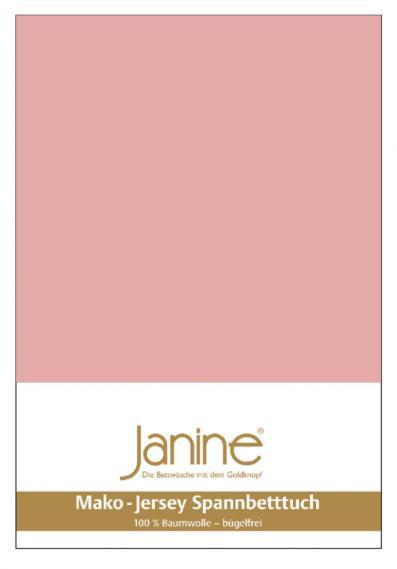 Spannbetttuch Jersey zartmauve 5007-31