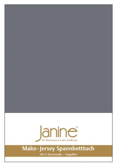 Spannbetttuch Jersey opalgrau 5007-48