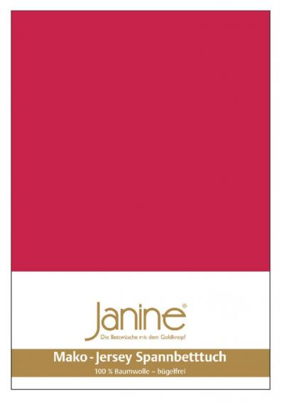 stretch bed sheet jersey red 5007-61-2 150/200