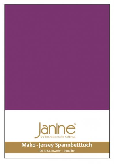 Spannbetttuch Jersey malve 5007-65