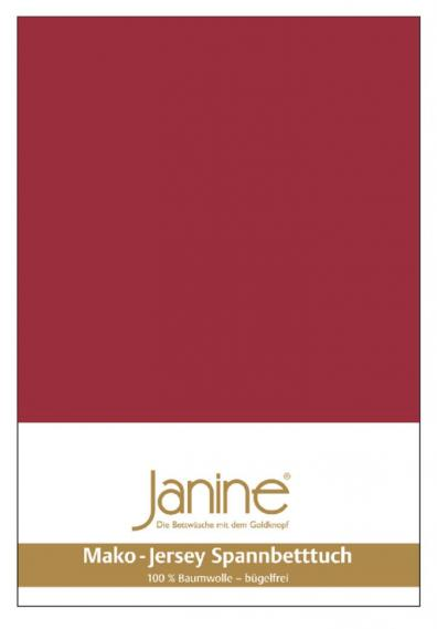 stretch bed sheet jersey dark red 5007-71-3 200/200