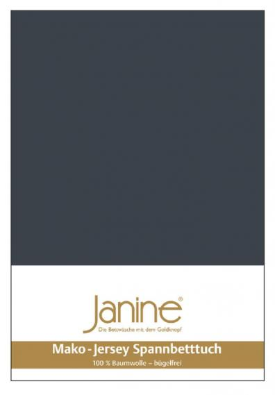 stretch bed sheet jersey dark gray 5007-78