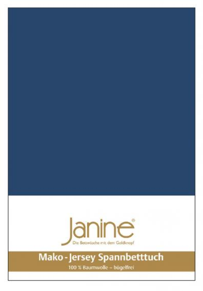 stretch bed sheet jersey dark blue 5007-82