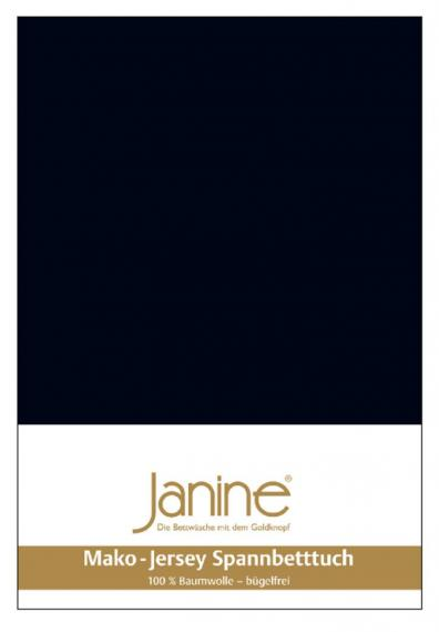 stretch bed sheet jersey black 5007-98-2 150/200