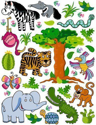 Wandtattoo für Zoofreunde 350-0206