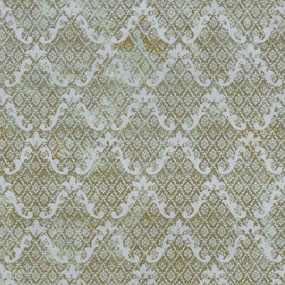 non-woven wallpaper metal color hand-finished Patina 4033-08