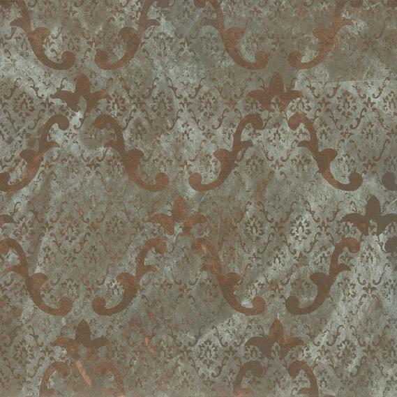 non-woven wallpaper metal color hand-finished Patina 4033-39