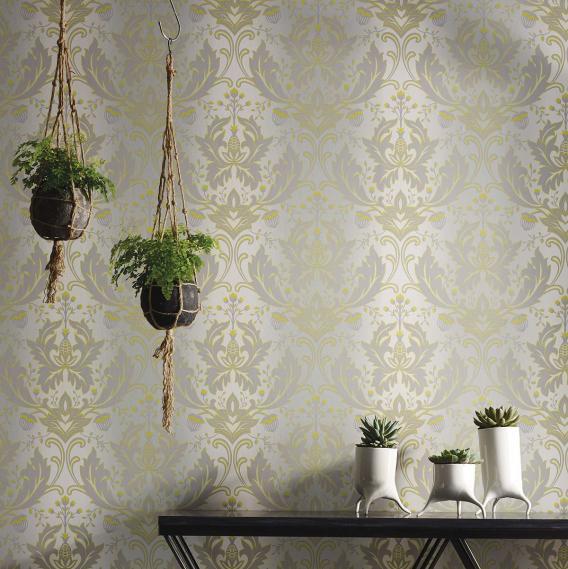 non-woven wallpaper Matthew Williamson Durbar W6954-01