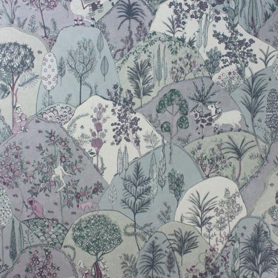 non-woven wallpaper Matthew Williamson Durbar W6955-03