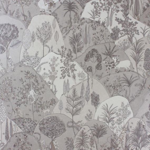 non-woven wallpaper Matthew Williamson Durbar W6955-04