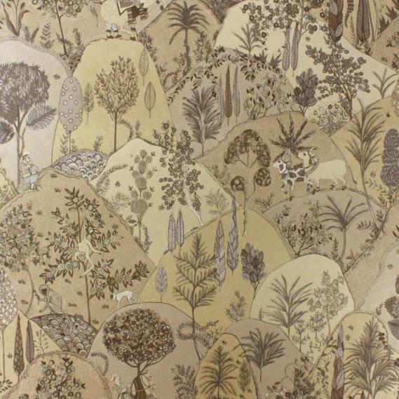 non-woven wallpaper Matthew Williamson Durbar W6955-05